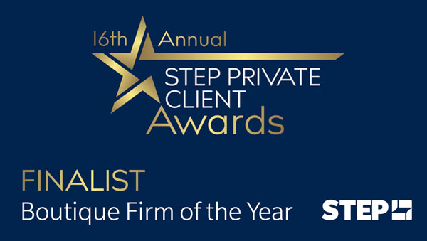 Boutique Firm of the Year 2021: Boltenko Law is a STEP Private Client Awards Finalist